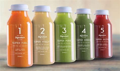 Juice With Drew 5 Day Detox by Cold Pressed Juice Diet Plan Groupon Goods