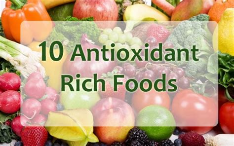 10 Best Antioxidant Foods by Top 10 Foods Rich In Antioxidants Health Inputs