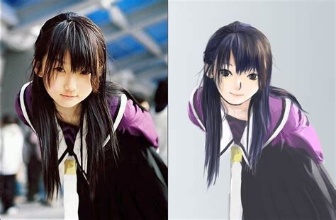 Anime In Real by Real Into Anime Version Picture By Hinata Hyuuga
