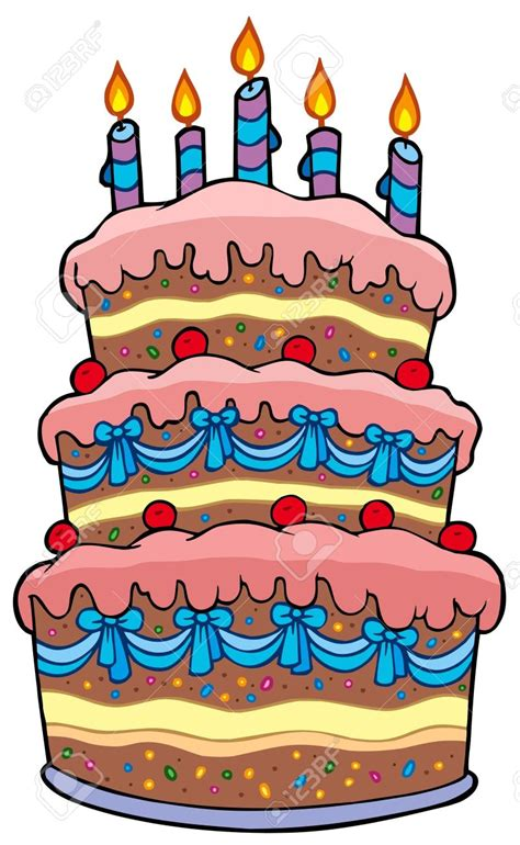 torta clipart cake birthday cake clipart 4 cakes clipartix
