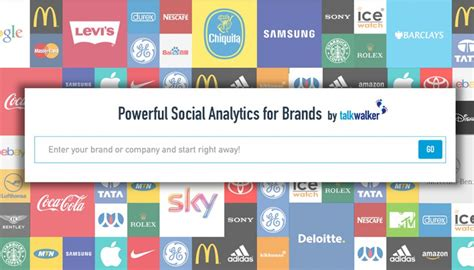 Free Social Media Search Talkwalker Launches Free Social Search And Analytics Talkwalker
