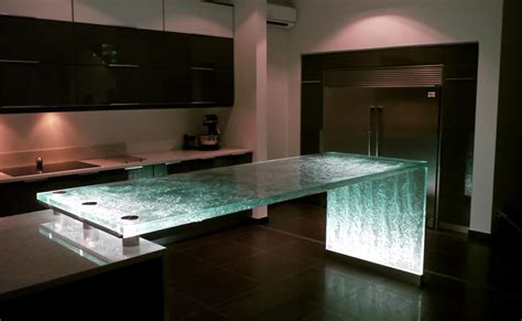 Glass Kitchen Countertops 20 Unique Countertops Guaranteed To Make Your Kitchen Stand Out