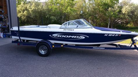 moomba boat trailer moomba outback boat for sale from usa