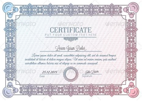 indesign certificate templates 28 indesign certificate template 10 blank