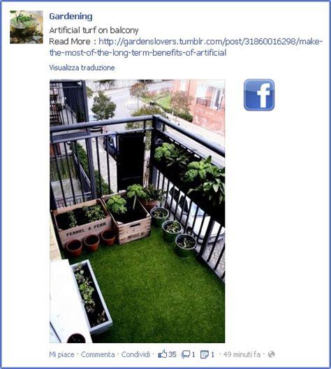 tappeto d erba per un balcone pi 249 verde un tappeto d erba finta fiori