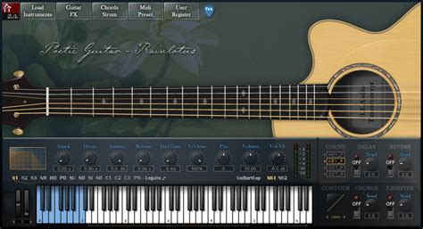 best electric guitar vst h e audio pgr poetic guitar rainlotus acoustic