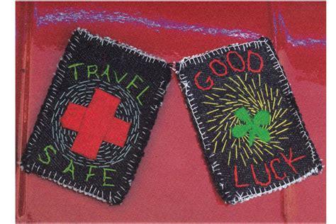 Travel Category Gift Card - travel safe good luck blank inside redhorseshoe