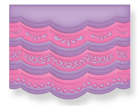 mby a2 scallop cards template spellbinders borderabilities a2 scalloped borders one die