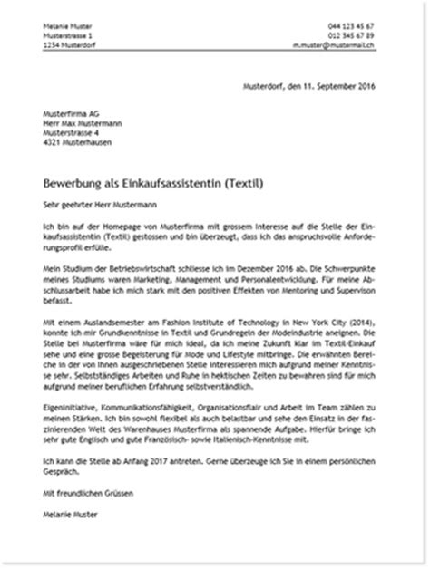 Bewerbung Einleitung Schweiz Bewerbungsschreiben Kostenloser Cv Check