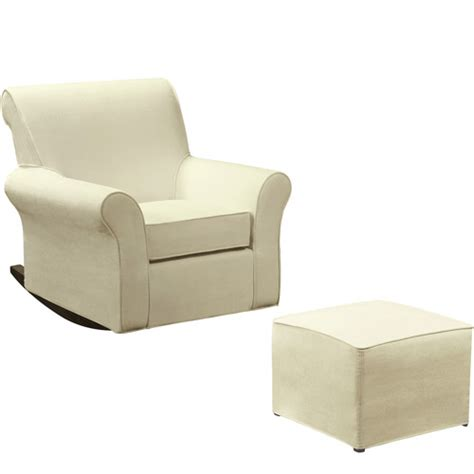 dorel rocking chair slipcover dorel rocking chair with ottoman beige feeding walmart com