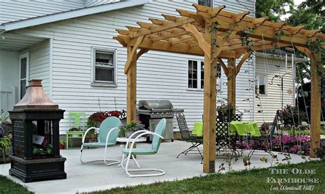 how to make your own pergola build your own pergola for an outdoor retreat