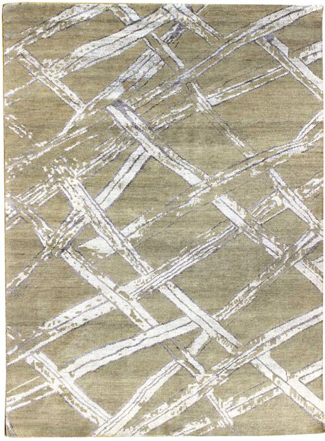 Geometric Design Rugs by Modern Rug Patterns Modern Geometric Pattern Ivory White