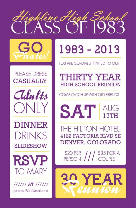 College Reunion Invitation Templates Templates Resume Exles Epyk53ngz4 Class Reunion Invitation Templates Free