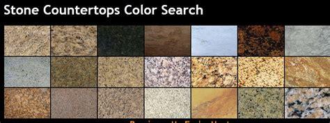 Granite Countertop Color Options by Granite Countertops Colors Granite Makeover