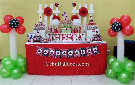 ladybug buffet ladybug cebu balloons and supplies