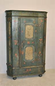 Antique Painted Armoire Painted Cupboard R3358 Antiques Atlas