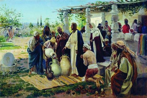 Wedding At Cana Powerpoint by Miracle At Cana 1887 Vladimir Makovsky Wikiart Org