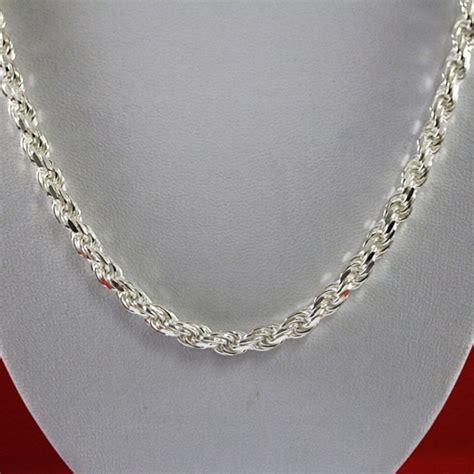 cadena plata hombre fina cadena plata tejido turbillon cadenas cadenas hombre