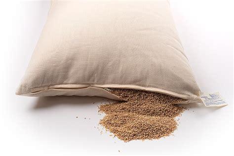 cuscino di miglio cuscino con miglio bio 80x40cm cura corpo donna