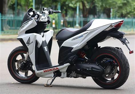 Lu Warna Putih Untuk Motor modifikasi vario 125 putih kumpulan modifikasi motor vario