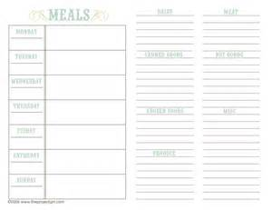 menu planner template free free family recipe templates above templates available