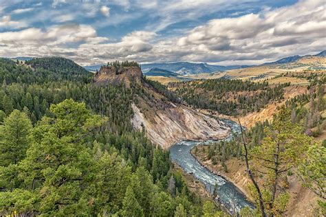 yellowstone landscape photograph by philip kuntz