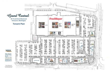 Pizza Restaurant Floor Plan by Grand Central Retail Center