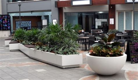 34 best images about planters in commercial spaces on
