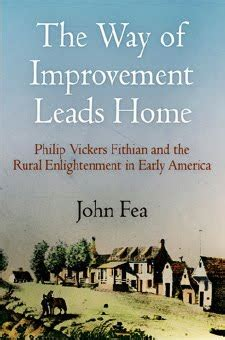 way of improvement leads home the way of improvement