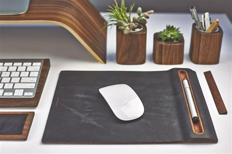 desk mouse pad re style your workspace w this designer desk collection