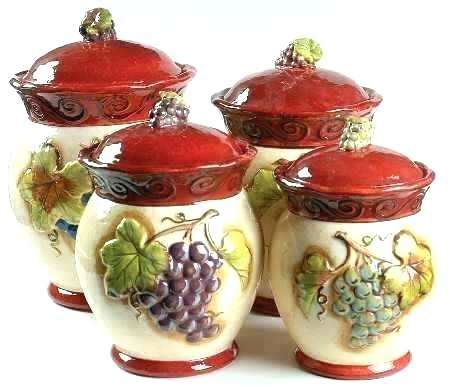 tuscany kitchen canisters decor decorating tuscany style
