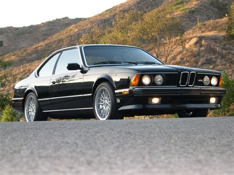 1988 bmw m6 series 1988 bmw m6 information and photos momentcar