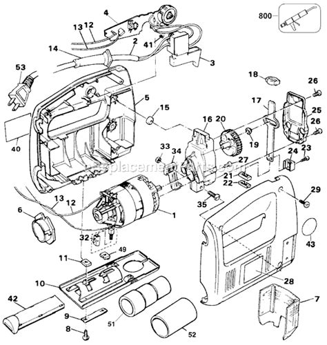 stihl ts400 parts diagram black and decker ts400 parts list and diagram type 1