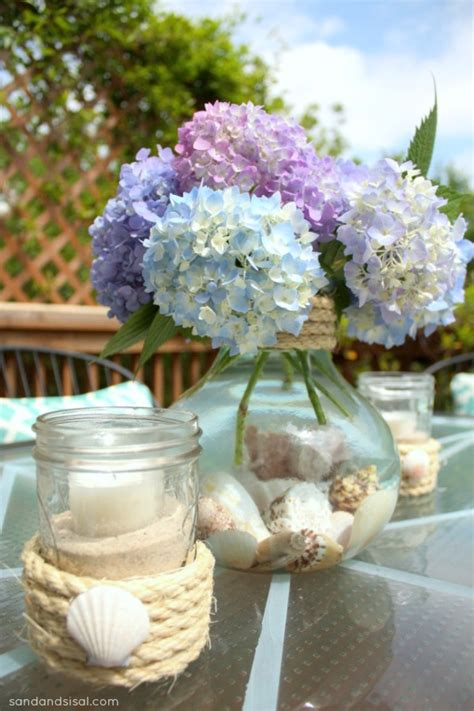 simple centerpieces 1000 images about beachy dining on