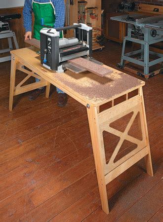 folding worktable woodsmith plans