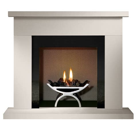 Fireplace Baskets by Gallery Durrington 48 Quot Fireplace With Optional Pulse