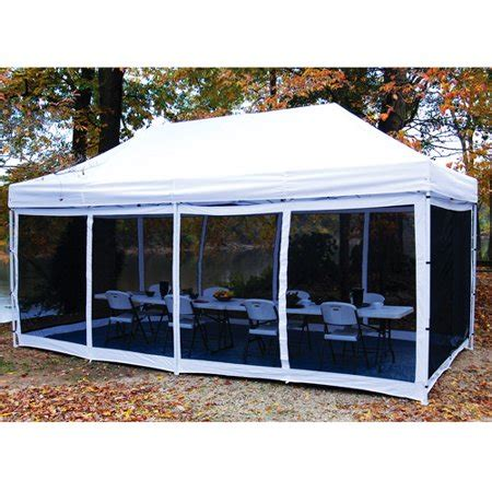 10 room cing tent king canopy epa1pbs15wh instant canopy bug screen room 1