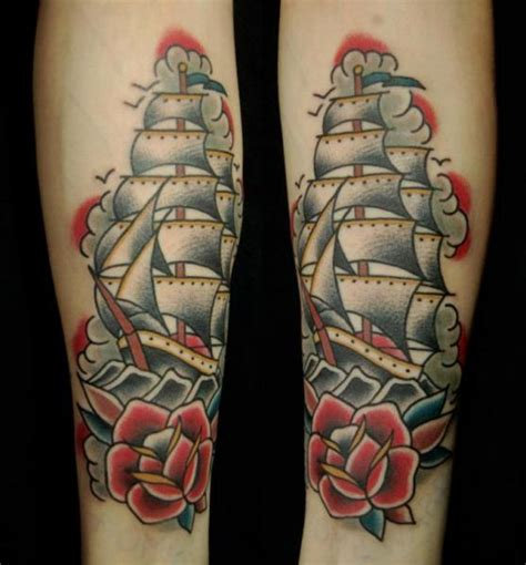 old galleon tattoo by seven devils