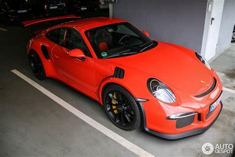 Porsche Gtrs For Sale by Porsche 991 Gt3 Rs 29 Maart 2015 Autogespot