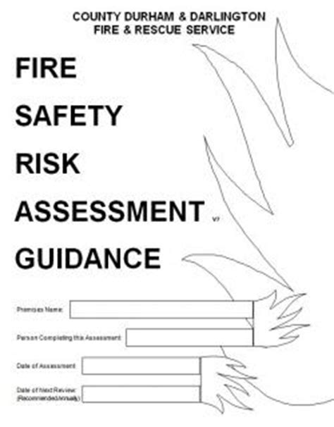 guidance documents county durham  darlington fire  rescue service