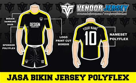 Sal Sepak Bola jasa pembuatan jersey polyflex sepak bola vendor jersey