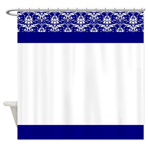 shower curtains blue and white blue and white victorian pattern shower curtain by
