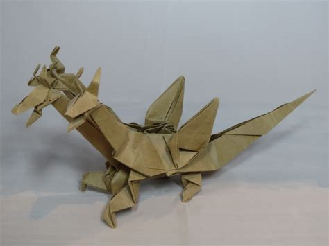 Origami 3 Headed - learn the of origami everywhere