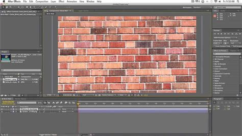 tutorial video wall after effects simple brick wall shatter effect after effects tutorial