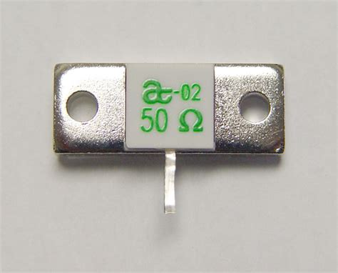 resistor flange 50 ohm atc termination resistor flange mount 250w 50 ohm ebay