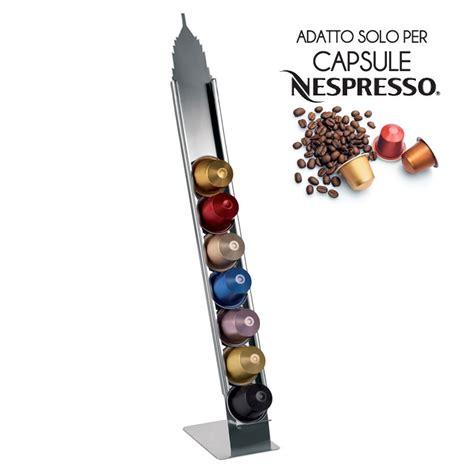 porta cialde nespresso porta capsule nespresso 174 new york 7x10 5xh40cm e my