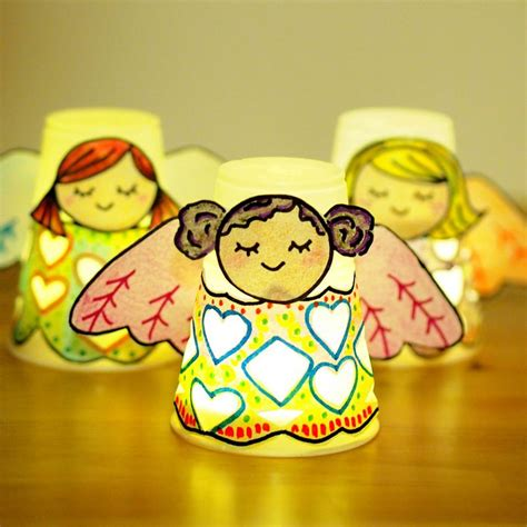crafts with paper cups craft paper cup luminaries cups and