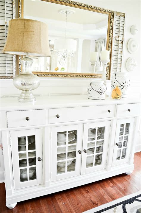 dining room buffet updates stonegable
