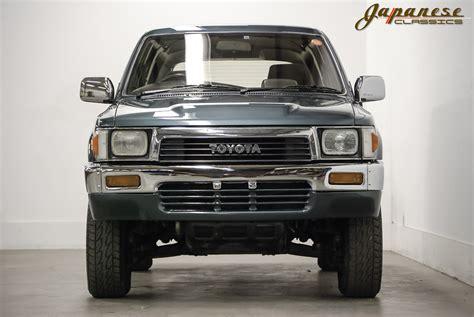 japanese classics 1990 toyota hilux 4x4 turbo diesel