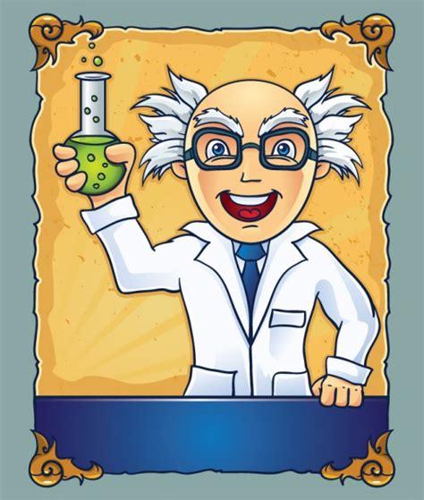 imagenes de simbolos cientificos cient 237 fico de dibujos animados con una botella descargar
